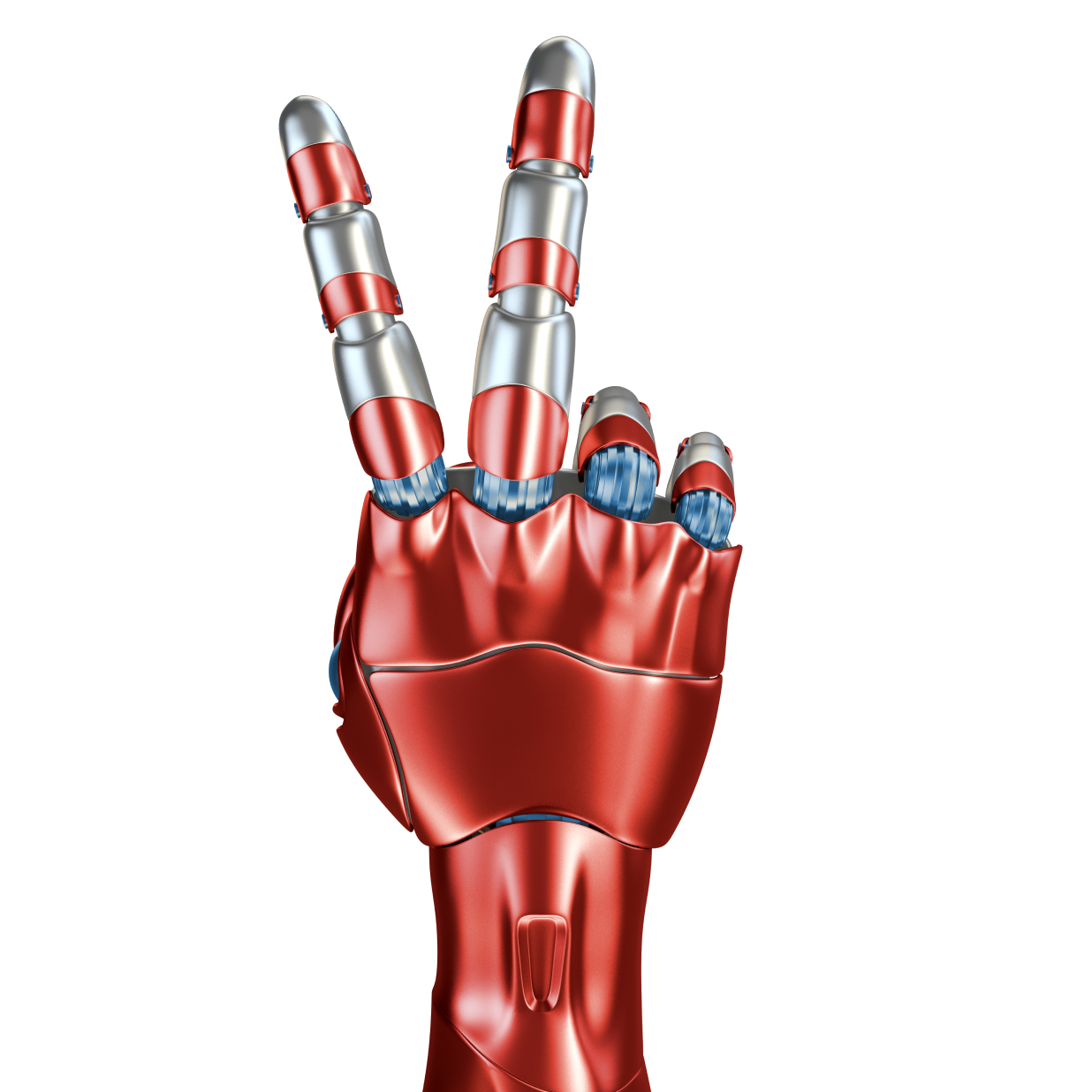Robot 2 Finger Hand - 619082051-huge 1